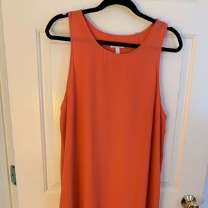 Coral Leith Shift Dress